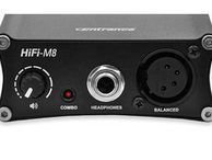 Raising the performance bar: Centrance HiFi-M8 digital converter/headphone amplifier The HiFi-M8 is the best sounding all-in-one portable digital converter/headphone amp the Audiophiliac has ever tested.