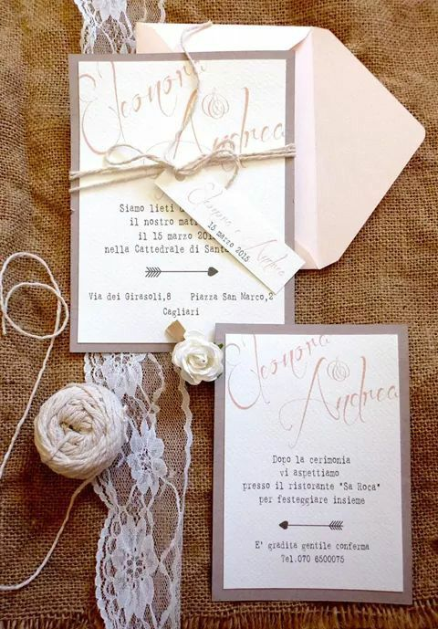 Inviti Matrimonio Country Chic : Migliori idee su inviti di nozze country pinterest