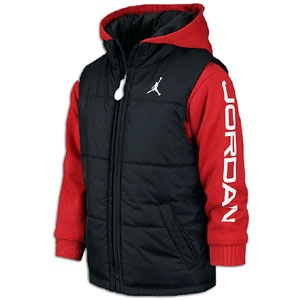 Air Jordan Jumpman boys Full Zip Therma-FIT Jacket. Take the court in this classic black and gym red Jordan Jumpman full zip hoodie! Jumpman embroidered on left breast with classic Jordan colorway.