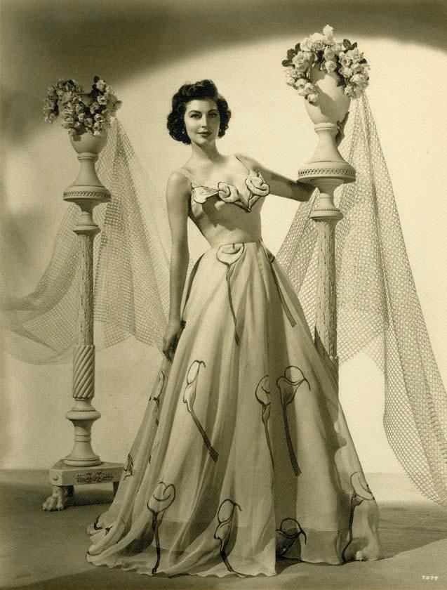 Ava Gardner Wedding Dress - Gown And Dress Gallery