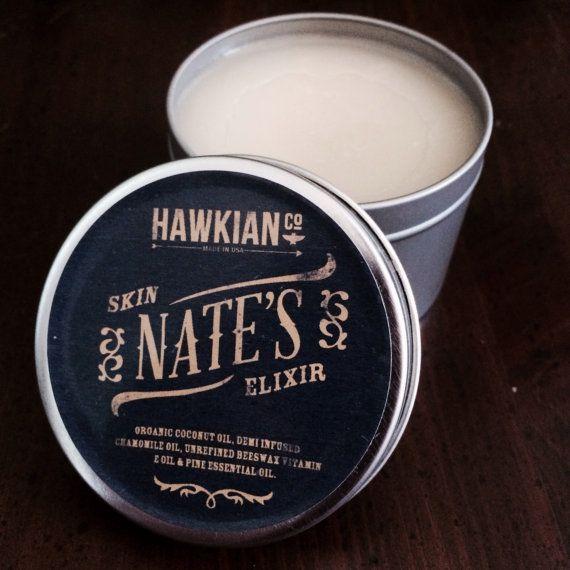 Organic Eczema Cream Nates Skin Elixer 6oz eczema by HawkianCo, $14.00