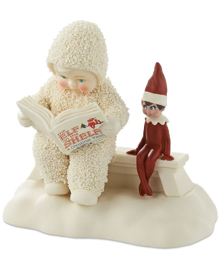 Department 56 Elf on the Shelf Story Snowbabies Collectible Figurine