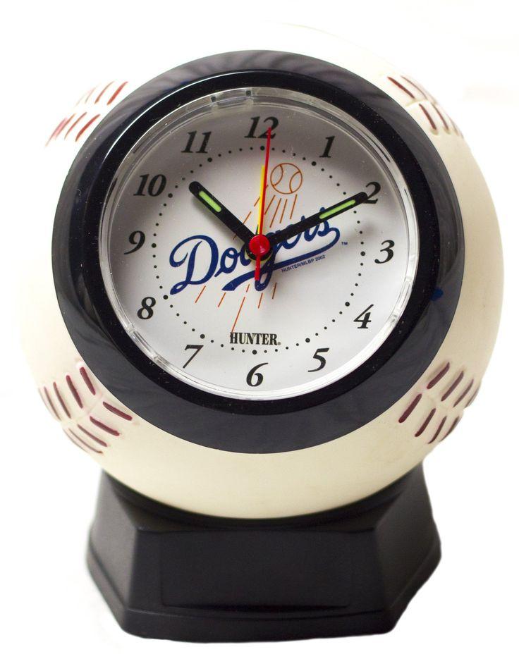 Los Angeles Dodgers baseball alarm clock