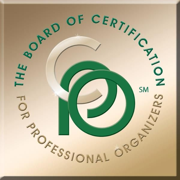 how to become a professional organizer certification