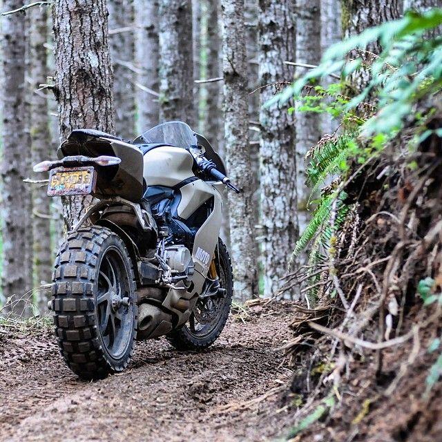 "A 195hp ""dirt bike"""