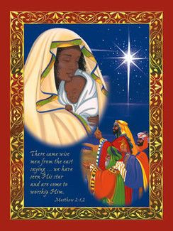 Madonna Amp Child Afrocentric Christmas Cards By Carole