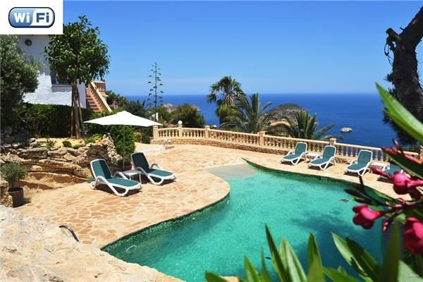 Amazing sea view and holiday house in Javea, Costa Blanca, Spain