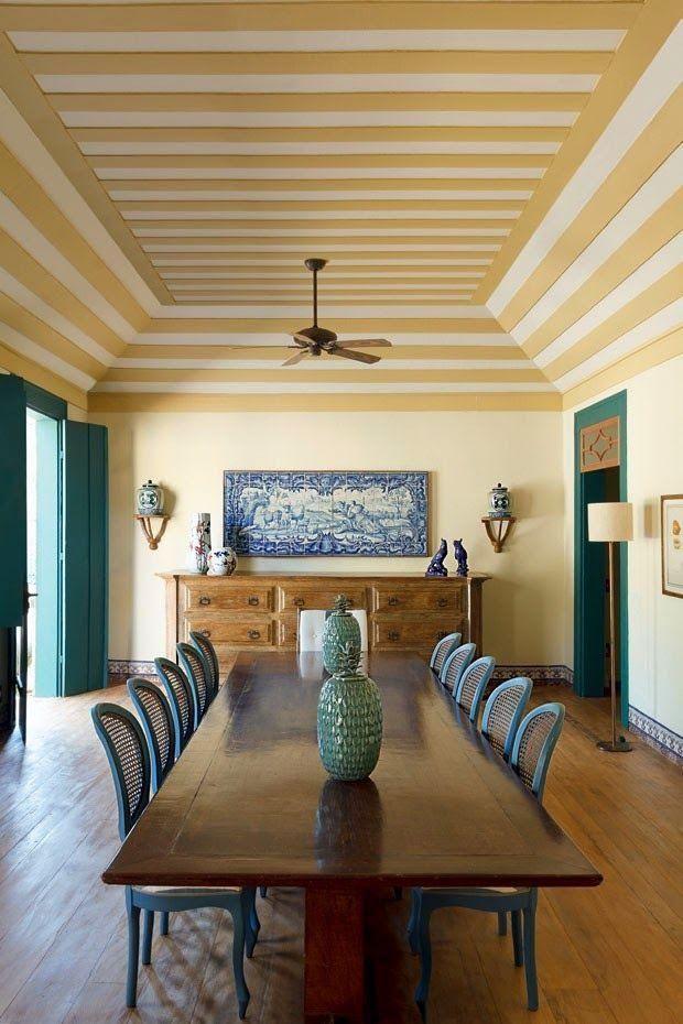 60 Fotos de decoração com estilo colonial