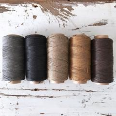 LINEN STRING POLISHED - Neutral – ChompaHandmade