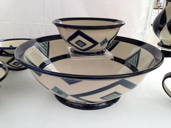 #pottery by Monica Johnston at #Toronto Outdoor #Art Exhibit via http://lifeovereasy.com/ #tableware: Artisan Fillings, Atwmn 93407277, Nathan Phillip, Fillings Nathan, Outdoor, Art Exhibitions, Established Artists, Monica Johnston, 500 Artists