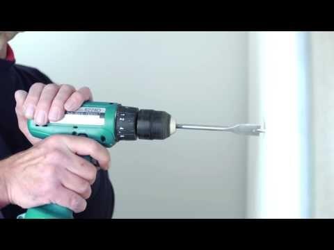 Heavy Duty Plasterboard Fixings - Grip It Fixings Installation - YouTube Video
