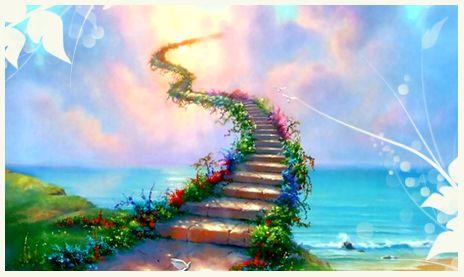 Quando un nostro amico peloso ci lascia, si dice che attraversa il ponte dell'arcobaleno. E' come il Paradiso degli esseri umani.