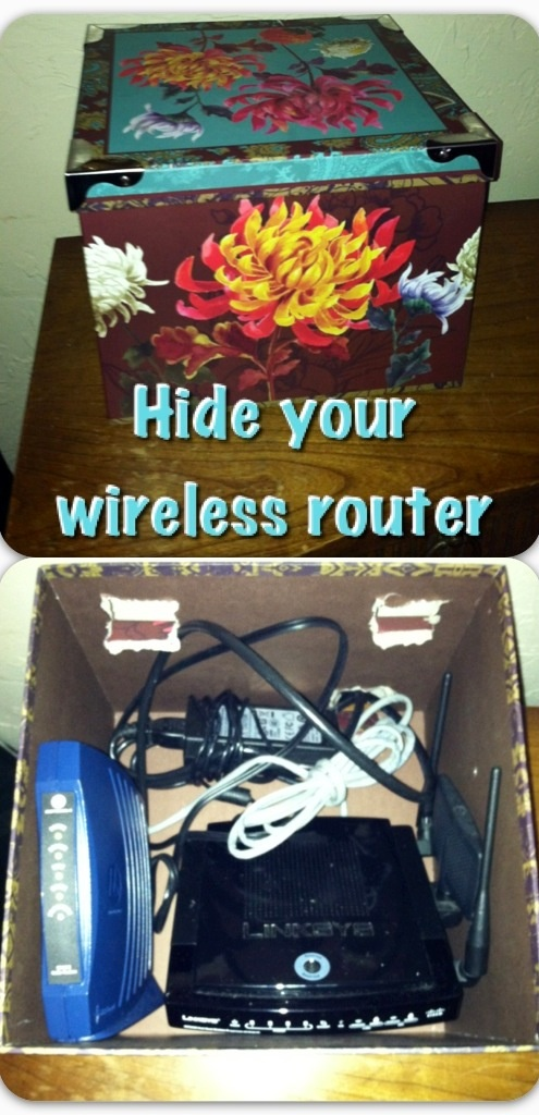 Decorative Box To Hide Cords : Images about conceal or disguise on