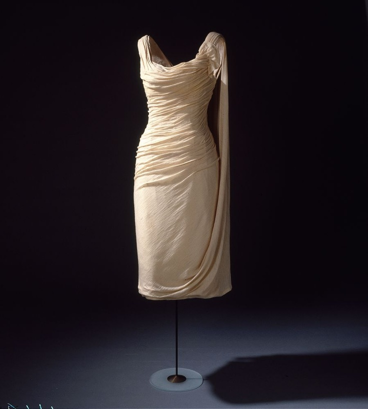 Dress containing silk from the National Museum of Denmark collections.