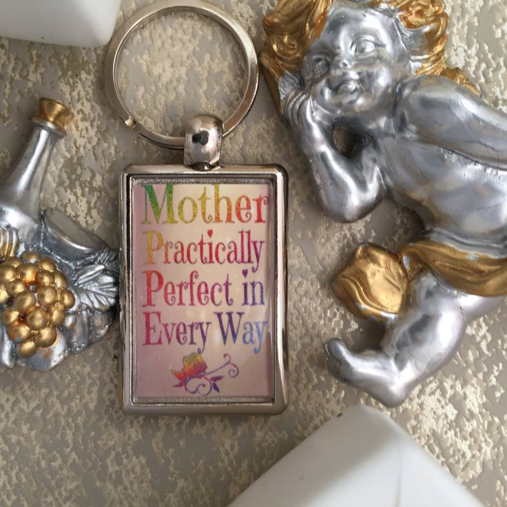 Mother Keyring, Practically Perfect in Everyway, Mother's Day by SprattsDesigns on Etsy