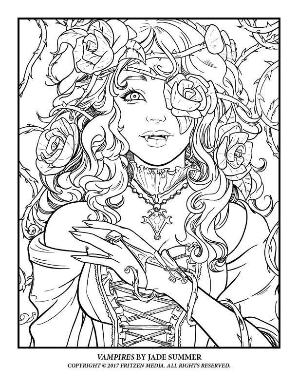 Image result for jade summer coloring pages Fairy
