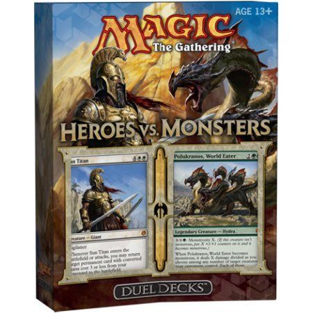 MtG Duel Decks: Heroes vs. Monsters Heroes vs. Monsters Duel Decks, Multicolor