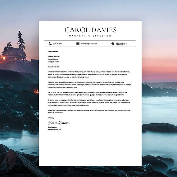 Modern Resume Template and Cover Letter, one of our successful resume templates which will make you STAND OUT from the rest when seeking that job you're really after. Having designed multiple job winning Resumes and Resume Templates for last couple of years, this resume template was