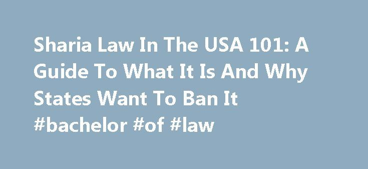 """Sharia Law In The USA 101: A Guide To What It Is And Why States Want To Ban It #bachelor #of #law http://law.remmont.com/sharia-law-in-the-usa-101-a-guide-to-what-it-is-and-why-states-want-to-ban-it-bachelor-of-law/  #sharia law # Sharia Law In The USA 101: A Guide To What It Is And Why States Want To Ban It (RNS) North Carolina lawmakers on Wednesday (July 24) approved a bill to prohibit judges from considering """"foreign laws"""" […]"""