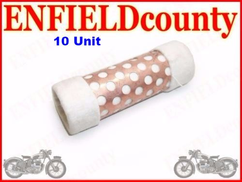 NEW ROYAL ENFIELD OIL CLEANER FILTER ELEMENT 10 Units # 140029