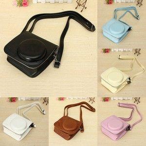 Gezien op Beslist.nl: 6 Colors PU Leather Camera Case Shoulder Bag For Fuji Fujifilm Intax Mini 8/8s
