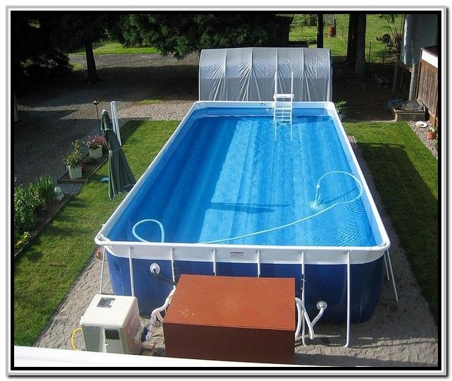 Best 25 rectangle above ground pool ideas on pinterest above ground pool sale rectangle Square swimming pools for sale