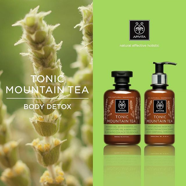 TonicMountainTea# Bodycare#APIVITA #naturalproducts #cosmetics #beauty