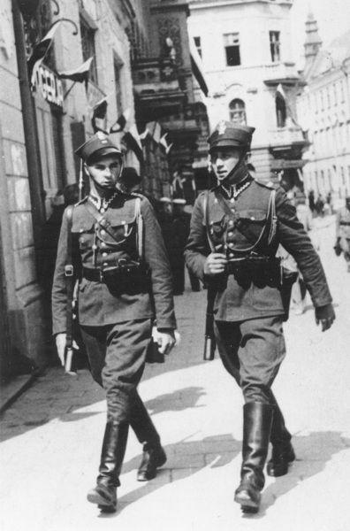 ..:: Żandarmeria Wojskowa - Komenda Główna ŻW :: Lata 1914-1939 ::..
