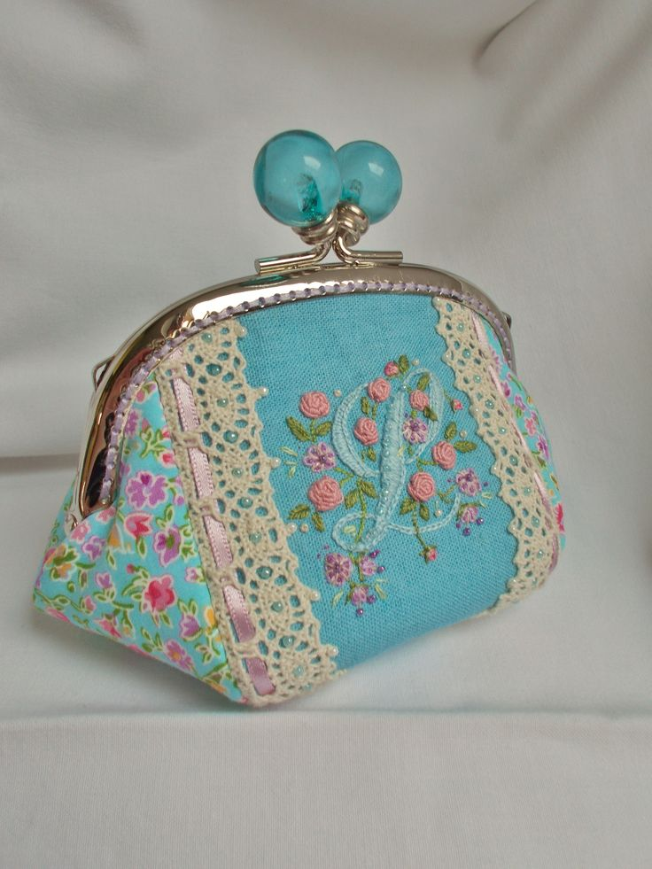 special order initial purse SOLD