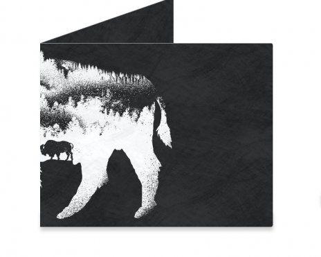 Dynomighty Artist Collective: American Bison by barmalisiRTB American, Bison, animals, art, design, illustration, barmalisiRTB