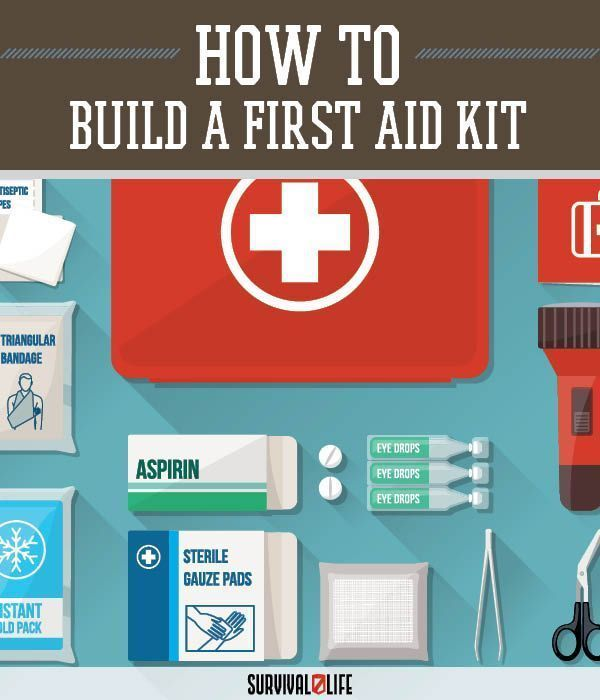 Building a Target First Aid Kit: Part 5 | Medical Tips When SHTF by Survival Life at survivallife.com/...