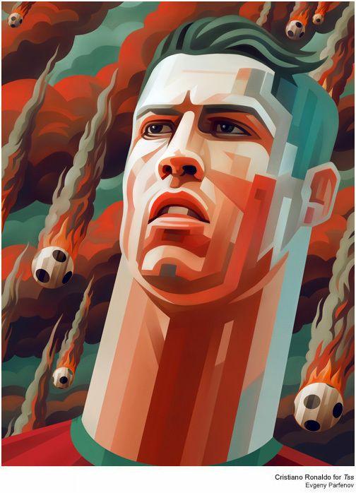 Celebrity illustrations by Evgeny Parfenov | From up North
