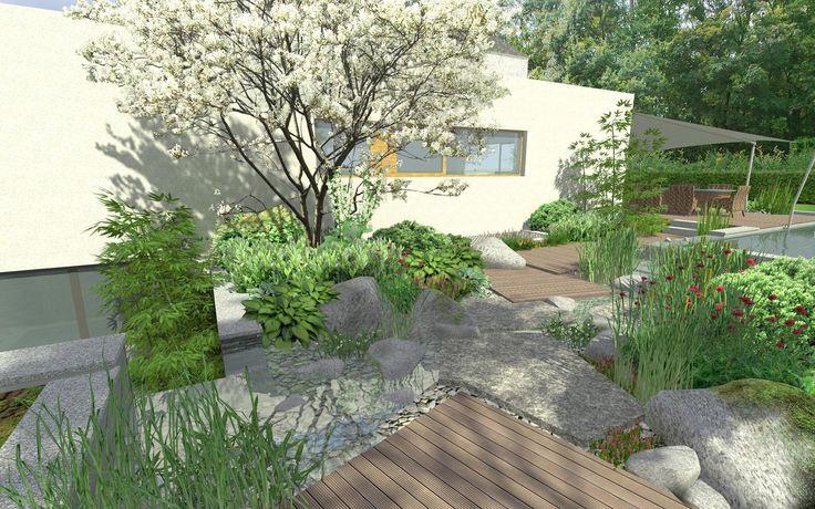vizualizace soukrome zahrady / visualization of private garden