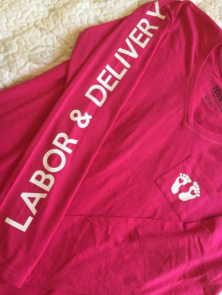 Labor and Delivery RN Nurse Long Sleeve Under by BlissfulMomLife