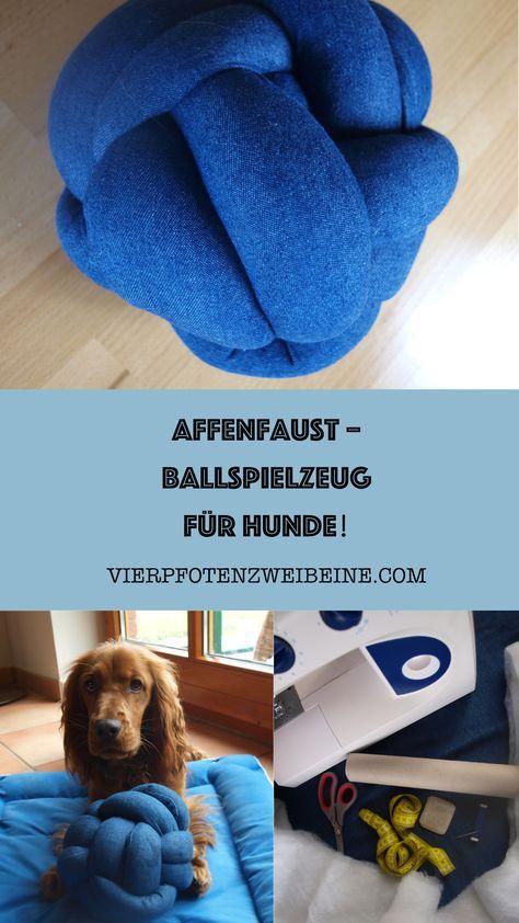 Affenfaust – Ballspielzeug für den Hund – Hundespielzeug
