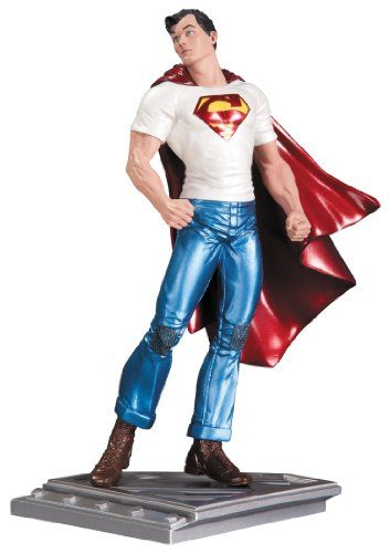 DC Collectibles The Man of Steel Superman Action Figure by Rags Morales Statue