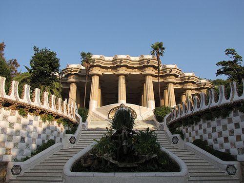 Parque Güell, Barcelona, España
