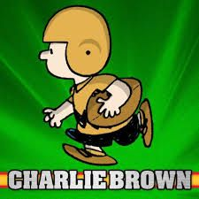 Charlie Brown with football - Google Search