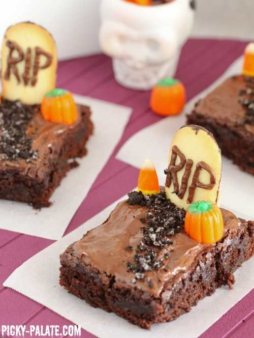 ... , Graveyards Brownies, Baking Brownies, Brownies Mixed, Brownies De