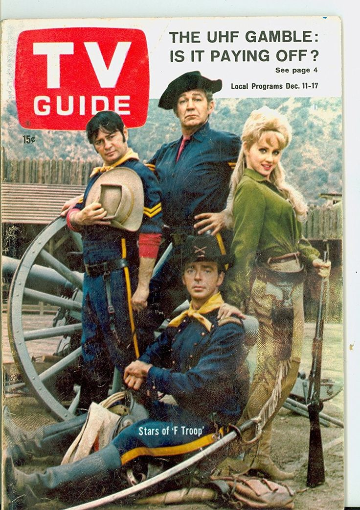 1965 TV Guide Dec 11 F Troop (First Cover) Portland