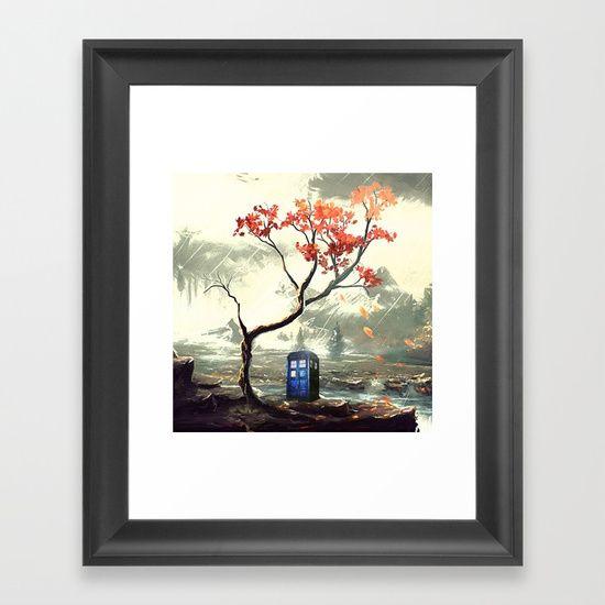 Tardis With A Tree - $37