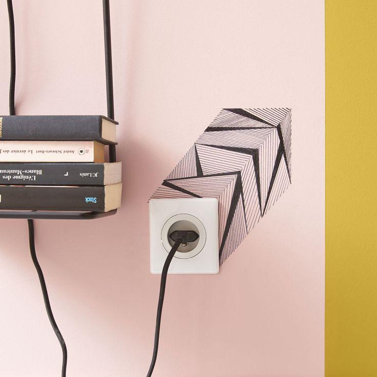 58 best Bureau images on Pinterest Bedroom office, Bureaus and - prise de courant dans salle de bain