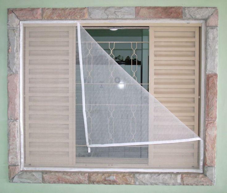 Resultado de imagem para tela mosquiteiro janela
