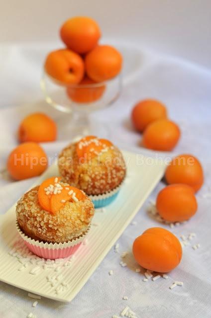 Muffins alle albicocche fresche