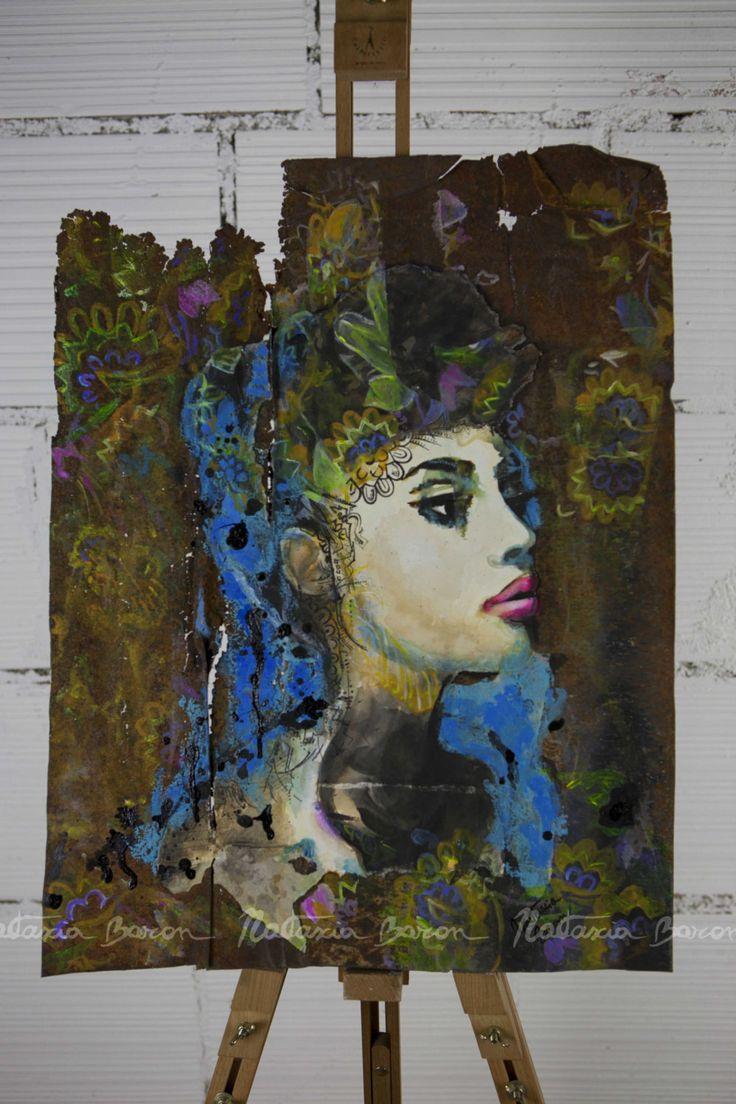 Miss Rust by NatasciaBaronArt on Etsy