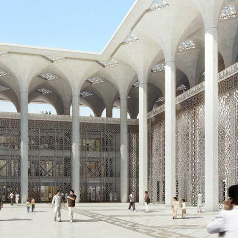 Mosquée d'Algérie by KSP Jürgen Engel Architekten #architecture #religious-buildings