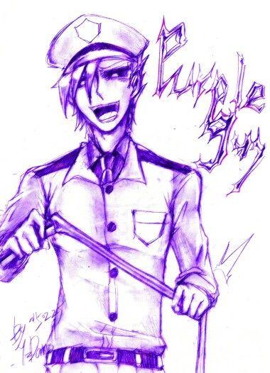 Purple Man!
