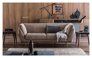 AS Koltuk Home Decor: For Sale - Luxury Beige Modern Sofa