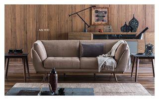 AS Koltuk Home Decor: For Sale - Luxury Beige Modern Sofa