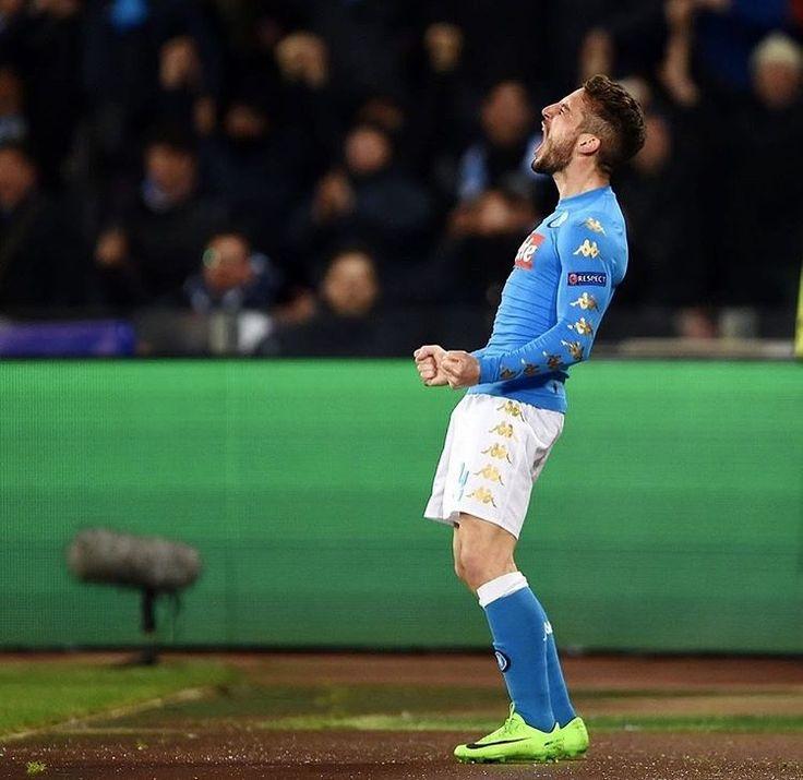 Dries Mertens  #NapoliReal #ChampionsLeague